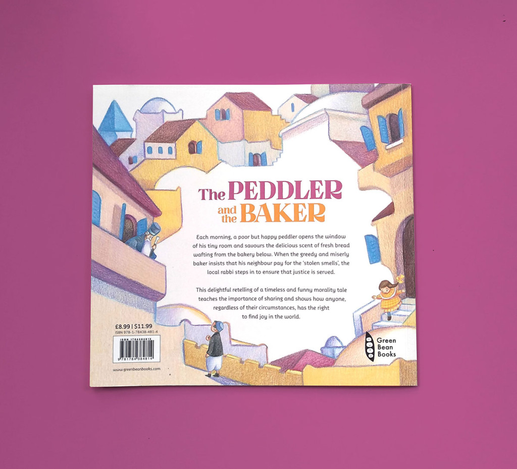 The Peddler and the Baker backcover